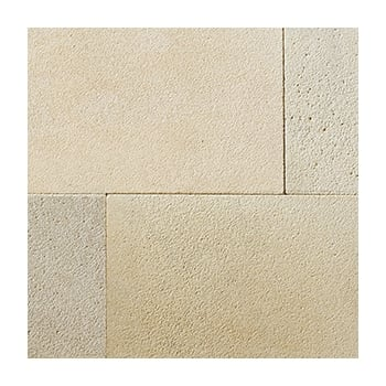 Natural Paving Premiastone 20mm Sandblasted Sandstone: Cornsilk 600 x 900mm