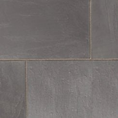 Premiastone 20mm Slate Paving: Black Project Pack