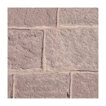 Natural Paving Premiastone 25mm Flamed Sandstone: Burnt Magenta Project Pack