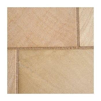 Natural Paving Premiastone 30mm Honed Sandstone: Walnut 500 x 500mm