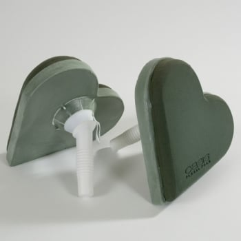 OASIS Foam Lady Heart Bouquet Holder