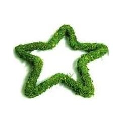Padded Moss Effect Star