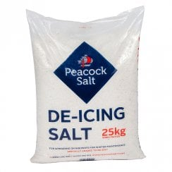 25kg White De-Icing Rock Salt