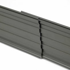 Heavy Duty Aluminium Edging 10.2cm x 2.4m
