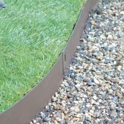 Heavy Duty Aluminium Edging 14cm x 2.4m