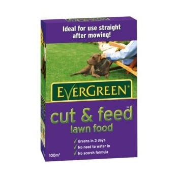 Scotts Evergreen Cut & Feed (100m²)