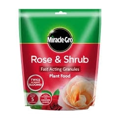 Miracle-Gro Rose & Shrub Food Pouch