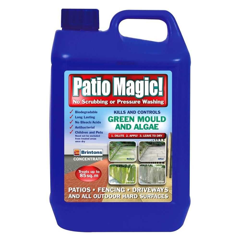 Patio Magic Green Mould & Algae Killer Concentrate ...