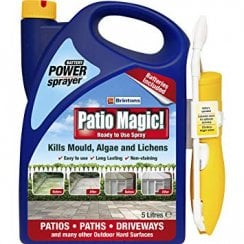 Patio Magic Green Mould and Algae Killer Ready To Use Power Sprayer 5 Litre