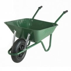 The Easiload Green Wheelbarow Boxed 85 Litre