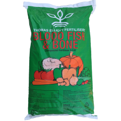Fish, Blood & Bone Fertiliser 5-5-6 25kg