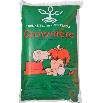 Thomas Elliott Growmore Fertiliser 7-7-7 25kg