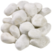 Tumbled White Marble 40-20 mm, 60-40 mm