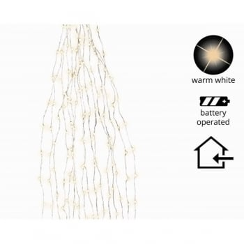 Warm White Micro Indoor LED Bunch Lights