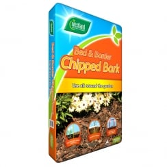 Bed & Borders Chipped Bark 70 Litre