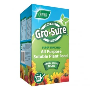 Westland Gro-Sure All Purpose Soluble Plant Food 800g