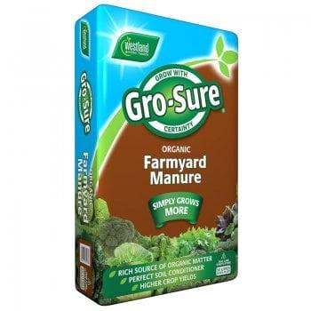 Westland Gro-Sure Farmyard Manure 50 Litre