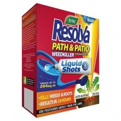 Resolva Path & Patio Weed Killer Liquid Shots