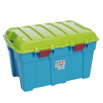 Wham 48L Stackable Sturdy Storage Trunk