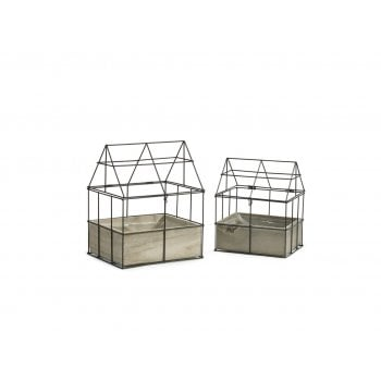 Woodhouse Planter (Set of 2)